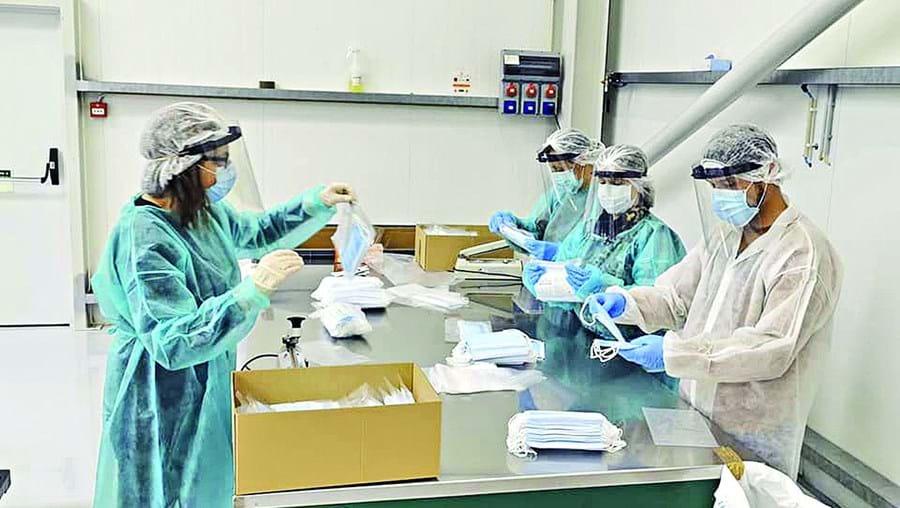 Máscaras a preço de custo para moradores da Marinha Grande