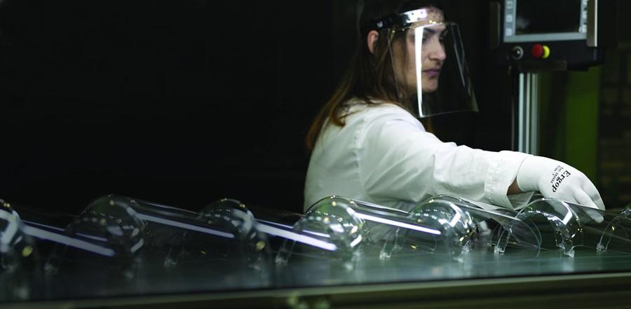 Iberomoldes, empresa da Marinha Grande, criou viseira inovadora