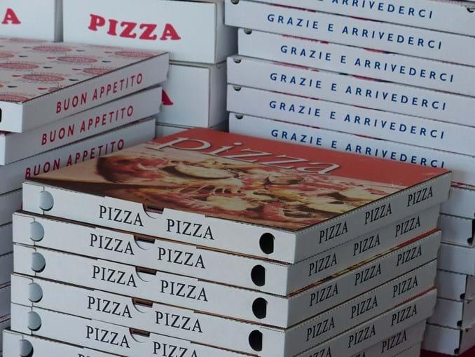 Caixas de pizzas - Imagem ilustrativa