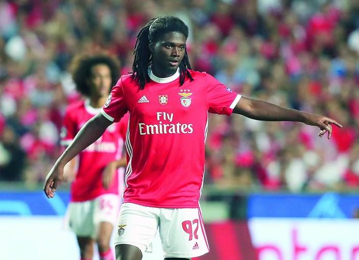 David Tavares estreou-se esta época na equipa principal do Benfica