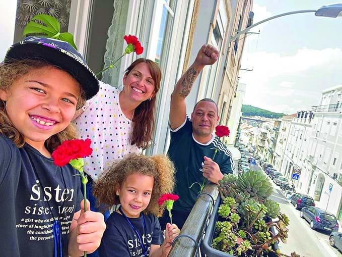 Famosos celebram Liberdade em quarentena