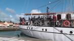 Navio-escola Sagres retoma viagens de instrução após paragem devido à Covid