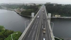 Trânsito na Ponte da Arrábida entre Porto e Gaia condicionado no fim de semana