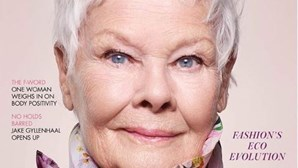 Judi Dench torna-se a estrela mais velha de sempre a fazer capa da Vogue aos 85 anos