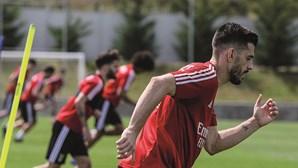 Benfica aplica 'chapa cinco' ao Farense em jogo-treino no Seixal