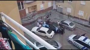 Pedras, tiros e garrafas: Violência contra agentes da PSP cresce nas últimas três semanas