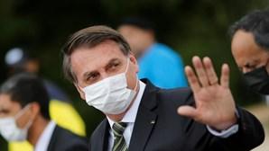 Jair Bolsonaro diz que a sua imagem no exterior é negativa porque a imprensa mundial é de esquerda