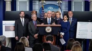 Três membros da equipa de luta contra a covid-19 da Casa Branca em isolamento após exposição ao vírus