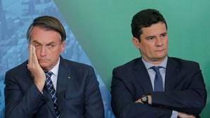 Bolsonaro reconhece que mentiu quando negou acusações de Sérgio Moro