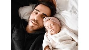 Diogo Piçarra encanta seguidores com foto da filha