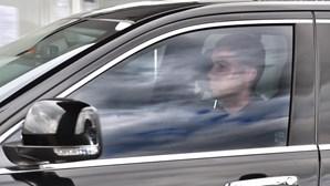Cristiano Ronaldo regressou ao centro de treinos da Juventus. Veja as imagens