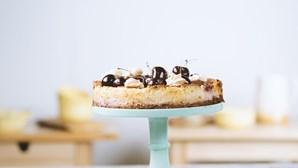 Receita fresca e saborosa: cheesecake de cereja