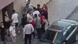 Novas imagens mostram confrontos em tiroteio que fez um morto e dois feridos no Seixal