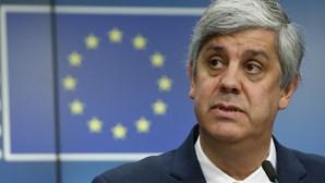 Elogios na União Europeia a Centeno reforçam ideia de que reeleição estava ao alcance