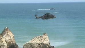 Jovem de 25 anos desaparecido no mar ao tentar salvar homem em praia de Portimão