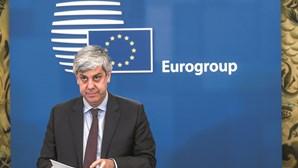 """""""Todas as coisas boas têm um fim"""", diz Centeno ao lançar sucessão no Eurogrupo"""