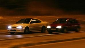PSP apreende 12 carros envolvidos em corridas ilegais em Loures