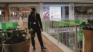 Vigilância reforçada nos centros comerciais