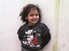 Valentina, de apenas 9 anos, foi  encontrada morta no domingo
