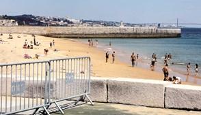 Praia de Paço de Arcos, em Oeiras