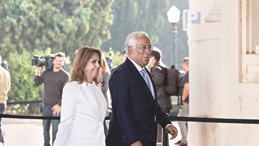 António Costa e a mulher, Fernanda Tadeu