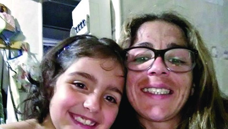 Sónia Fonseca e Valentina estavam separadas devido à pandemia
