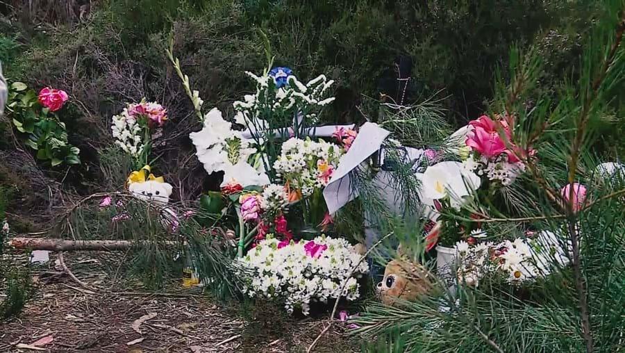Local onde o corpo foi abandonado transformou-se num memorial