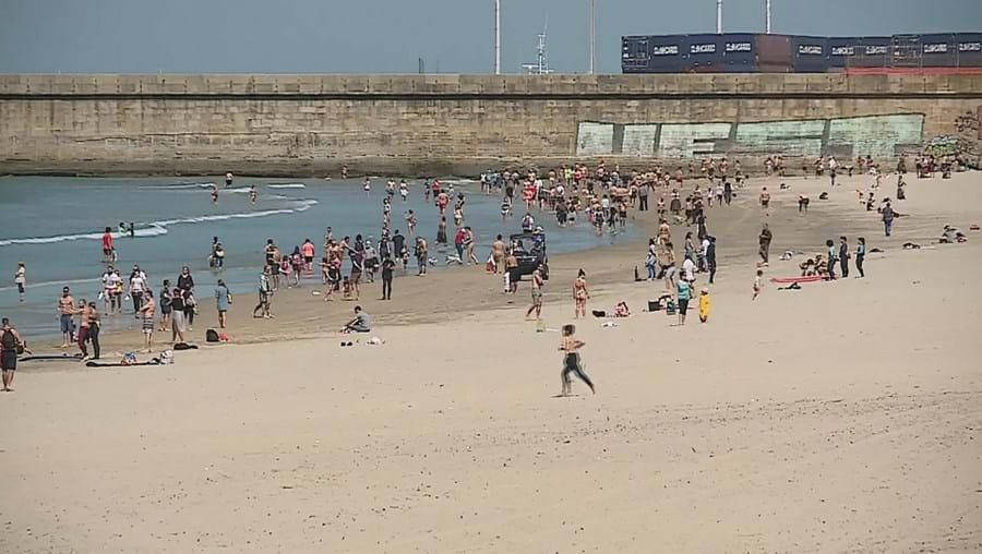 Praia de Matosinhos - imagem de arquivo