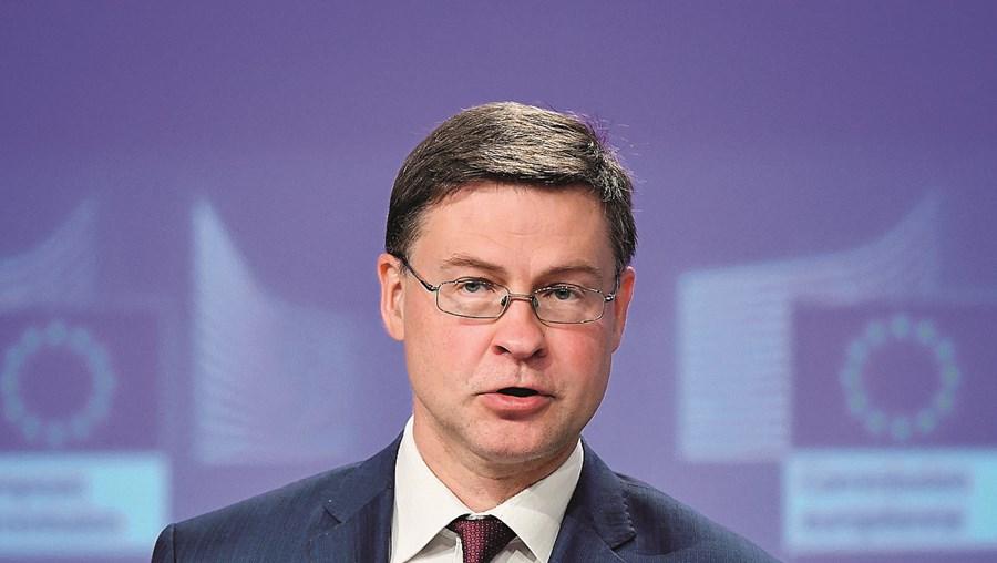 Valdis Dombrovskis, vice-presidente da Comissão Europeia