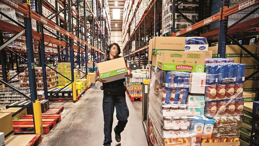 Armazéns de logística da Sonae na Azambuja abastecem vários supermercados na zona Centro e Sul do País