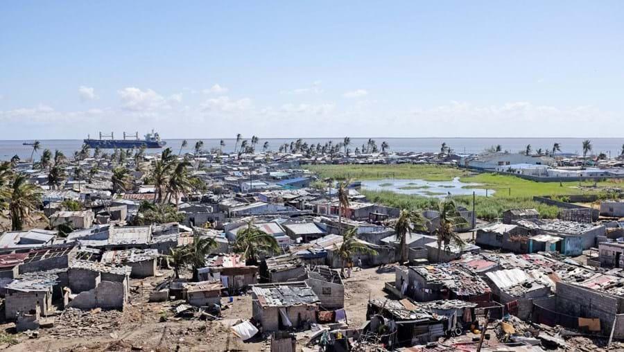 Cidade da Beira, em Moçambique