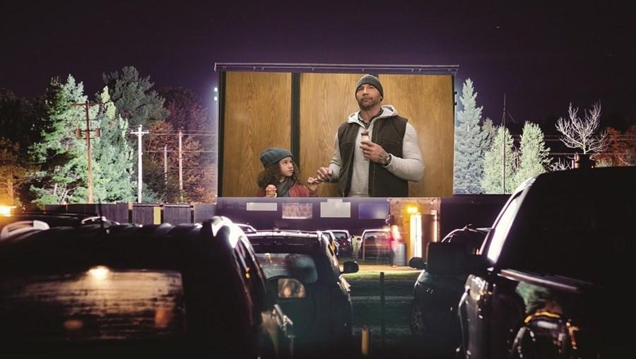 Cinema 'drive-in'