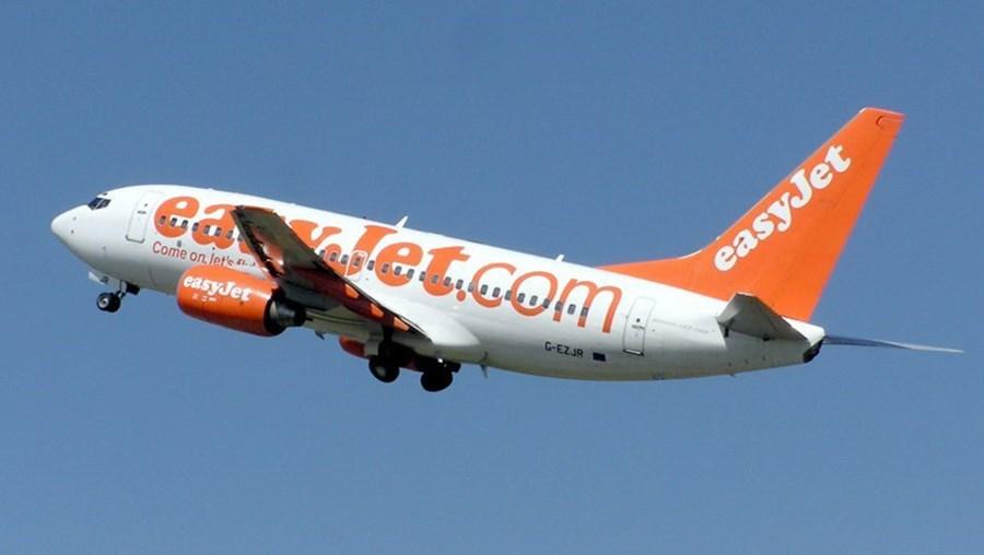 Avião da Easyjet.
