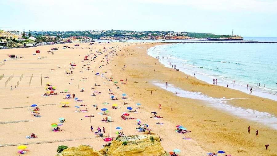 Praia da Rocha, em Portimão