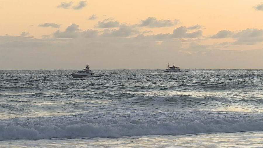 Jovem de 20 anos desaparece no mar na Praia da Barra em Ílhavo