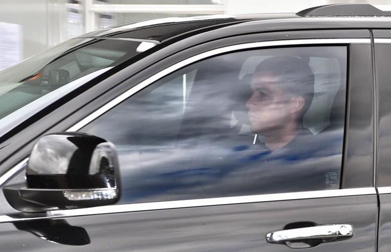 Cristiano Ronaldo regressou ao centro de treinos da Juventus