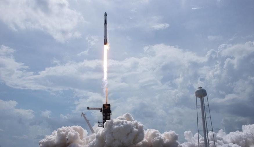 Lançamento do foguetão da Space X