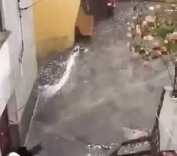 Chuva forte em Pampilhosa da Serra