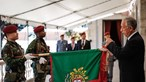 Marcelo condecora Regimento de Comandos e elogia a sua defesa da liberdade