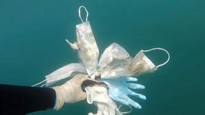 Máscaras e luvas são o novo pesadelo na luta contra a poluição dos oceanos. Veja as imagens