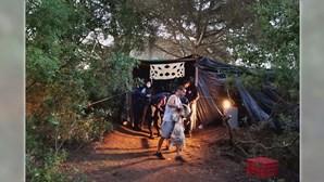 GNR trava festa ilegal em tenda no mato
