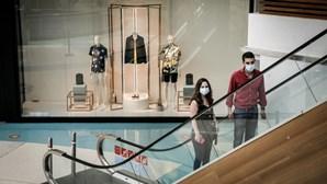 Centros comerciais na Grande Lisboa reabrem esta segunda-feira com segurança reforçada