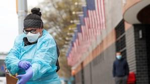 EUA bate recorde diário de casos de coronavírus com mais de 60 mil infetados em 24 horas