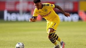 Borussia Dortmund renova com prodígio inglês Jadon Sancho
