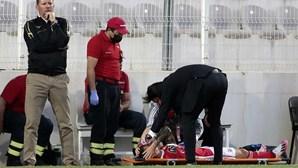 Grimaldo com época em risco devido a lesão no jogo frente ao Portimonense