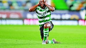 Tiro de Jovane Cabral dá pontapé na monotonia e Sporting vence Paços