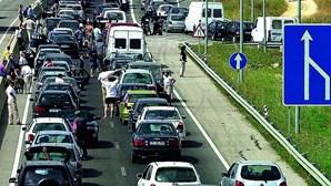 Tráfego rodoviário cai em março 37,4% nas autoestradas
