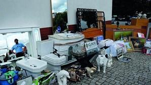 Ladrões roubam bidés e sanitas em Viseu