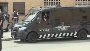 Megaoperação da PSP em bairro da Amadora por crimes de roubo e tráfico de droga