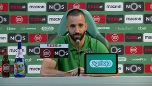 """""""Benfica? Estou muito feliz aqui"""", diz Rúben Amorim"""
